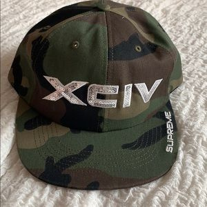 Supreme XCIV camo hat, brand new